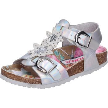 Chaussures Fille Sandales et Nu-pieds Fiorucci BH174 Argenté