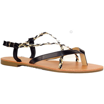 Chaussures Femme Sandales et Nu-pieds Cink-me DMH NOIR OR