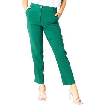 Vêtements Femme Chinos / Carrots Sandro Ferrone S15XBAALAN vert