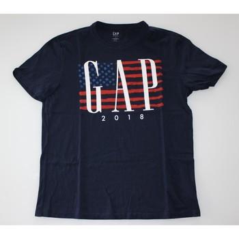 Vêtements Homme T-shirts manches courtes Gap T-shirt Gap Bleu