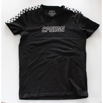Vêtements Homme T-shirts manches courtes Jack & Jones T-shirt Jack & Jones Noir
