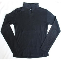 Vêtements Homme T-shirts manches longues Sans marque T-shirt manche longue Eastwest Noir