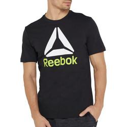 Vêtements Homme T-shirts manches courtes Reebok Sport DU4691 Noir