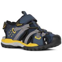 Chaussures Garçon Sandales sport Geox Sandale j borealis b.b bleu