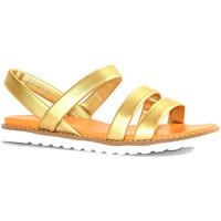 Chaussures Femme Sandales et Nu-pieds Cink-me DMH OR PLATINE METAL