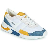 Chaussures Femme Baskets basses Gola GOLA ECLIPSE Blanc / Bleu / Jaune