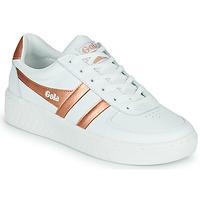 Chaussures Femme Baskets basses Gola GOLA GRANDSLAM Blanc / Bronze