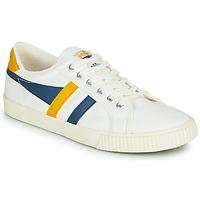 Chaussures Homme Baskets basses Gola GOLA TENNIS MARK COX Blanc / Bleu / Jaune