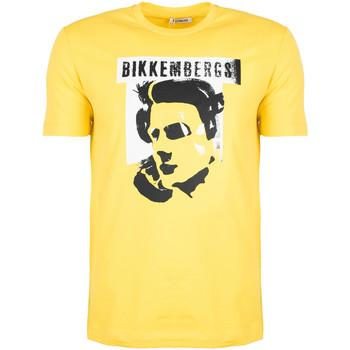 Vêtements Homme T-shirts manches courtes Bikkembergs  Jaune