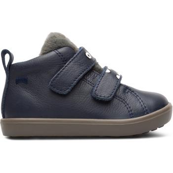 Chaussures Garçon Baskets montantes Camper Basket cuir PURSUIT bleu