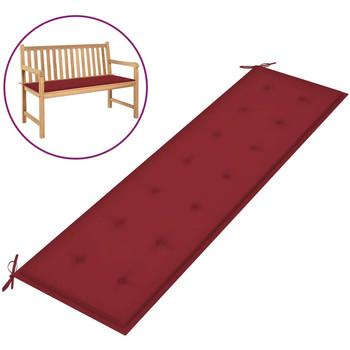 Maison & Déco Galettes de chaise VidaXL Coussin de banc 180 x 50 x 4 cm Rouge