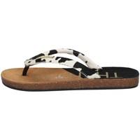 Chaussures Femme Tongs The Holy Beach H20 0019011 NOIR ET BLANC