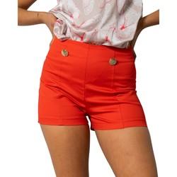 Vêtements Femme Shorts / Bermudas Rinascimento CFC0103674003 rouge