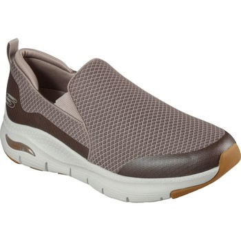 Chaussures Homme Slip ons Skechers 232043-TPE-060 Arch Fit Banlin Taupe