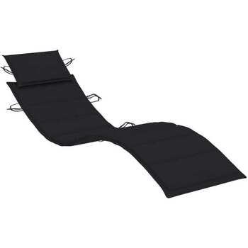 Maison & Déco Galettes de chaise Vidaxl  Noir
