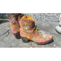 Chaussures Femme Bottines Mexicana Boots mexicana multicolore Multicolore