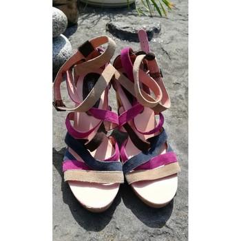 Chaussures Femme Sandales et Nu-pieds Mellow Yellow Sabots /Sandales à brides  multicolore Multicolore