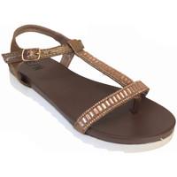 Chaussures Femme Sandales et Nu-pieds Elue par nous Jidea Cuivre