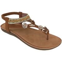 Chaussures Femme Sandales et Nu-pieds Elue par nous Jidioma Marron