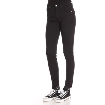 Vêtements Femme Jeans Love Moschino High-Waisted Skinny Jeans Black
