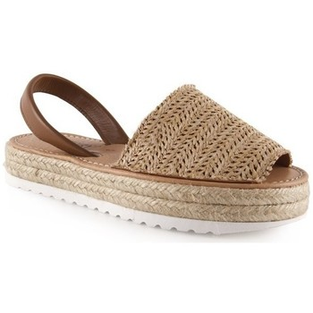 Chaussures Femme Sandales et Nu-pieds Chamby  Beige