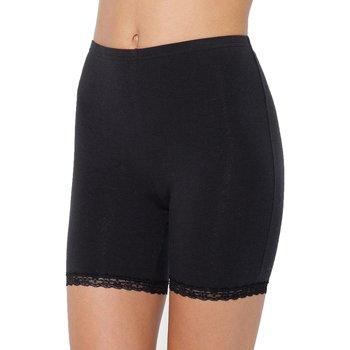 Sous-vêtements Femme Culottes & slips Balsamik lot de 2 panties en maille et dentelle noir