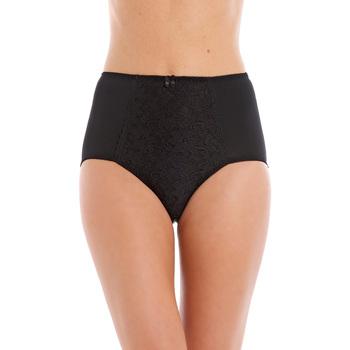 Sous-vêtements Femme Culottes & slips Balsamik Lot de 2 culottes maxi gainantes noirblanc