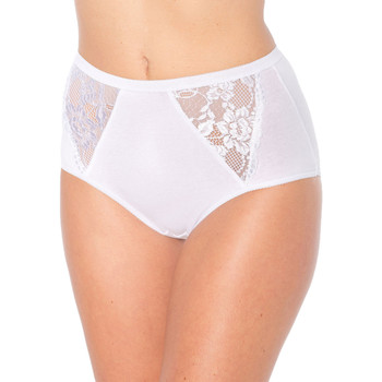 Sous-vêtements Femme Culottes & slips Balsamik lot de 3 culottes midi blanc
