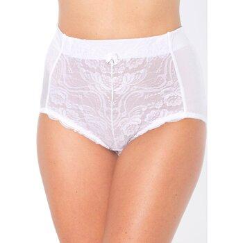 Sous-vêtements Femme Culottes & slips Balsamik lot de 2 culottes gainantes blanc
