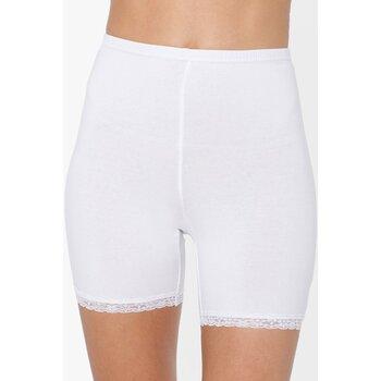 Sous-vêtements Femme Culottes gainantes Balsamik lot de 2 panties en maille et dentelle blanc