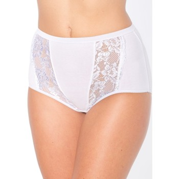 Sous-vêtements Femme Culottes & slips Balsamik Culottes maxi, lot de 3 blanc