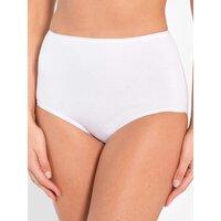 Sous-vêtements Femme Culottes & slips Balsamik Lot de 3 culottes maxi blanc