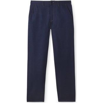 Vêtements Homme Jeans droit Honcelac Jean droit bleu