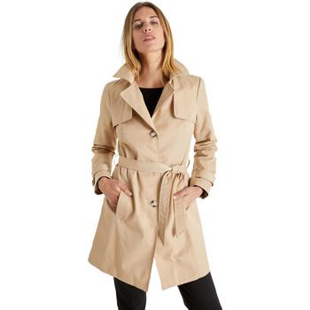 Vêtements Femme Trenchs Balsamik Trench déperlant beige