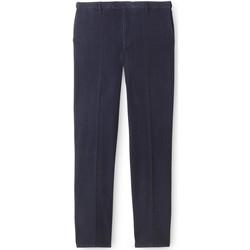 Vêtements Homme Jeans droit Honcelac Jean droit ceinture élastiquée réglable bleu