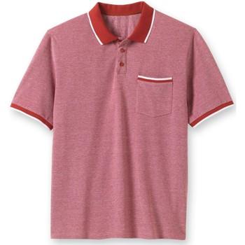 Vêtements Homme Polos manches courtes Honcelac Polo manches courtes bordeaux