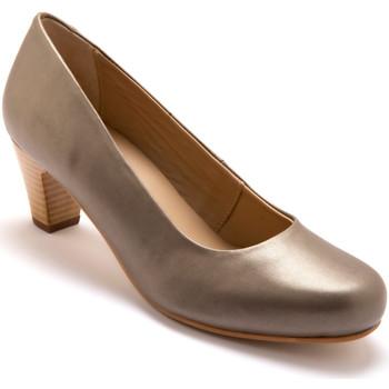 Chaussures Femme Escarpins Pediconfort Escarpins en cuir grande largeur mordor