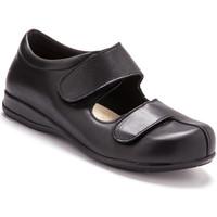 Chaussures Femme Derbies Pediconfort Derbies cuir pour pieds ultra-sensibles noir