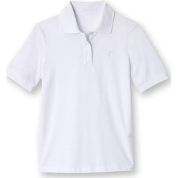 Vêtements Femme Polos manches courtes Kocoon Polo maille piquée manches courtes blanc