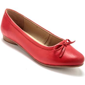Chaussures Femme Ballerines / babies Pediconfort Ballerines classiques largeur confort corail