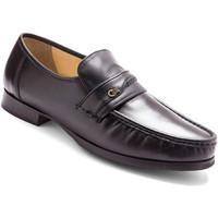 Chaussures Homme Mocassins Pediconfort Mocassins cuir grande largeur noir