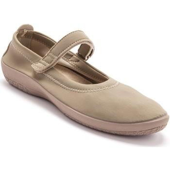 Chaussures Femme Ballerines / babies Pediconfort Babies en maille extensible beige