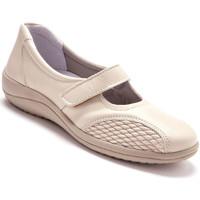 Chaussures Femme Ballerines / babies Pediconfort Babies en cuir à aérosemelle beige