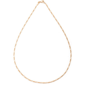 Montres & Bijoux Femme Colliers / Sautoirs Balsamik Chaîne maille torsadée plaqué or plaquor