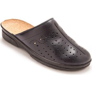 Chaussures Femme Sabots Pediconfort Sabots cuir à galbe anatomique marine