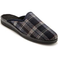Chaussures Homme Chaussons Honcelac Mules largeur confort ecossaisbleu
