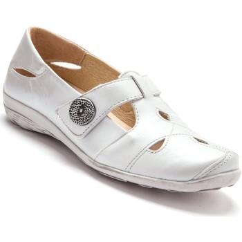 Chaussures Femme Sandales et Nu-pieds Pediconfort Salomés à aérosemelle ultra souples argent