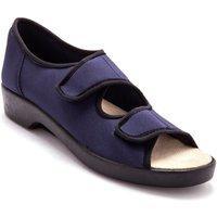 Chaussures Femme Sandales et Nu-pieds Pediconfort Sandales extra larges maille extensible marine