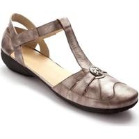 Chaussures Femme Sandales et Nu-pieds Pediconfort Salomés à patte autoagrippante mordor