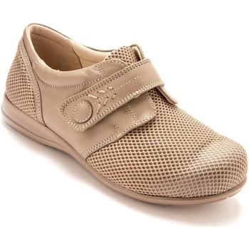 Chaussures Femme Derbies Pediconfort Derbies ultra larges semelle amovible beige